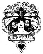 Queen of Hearts Shield