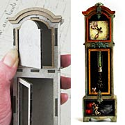 3D Grandfather Clock - 1:12 Scale