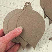 12 Days of Christmas Chipboard Ornament Set*