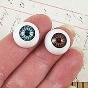16mm Flat Back Eyeball Cabochons