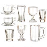 Kitchen Glassware Set - 16 Pieces