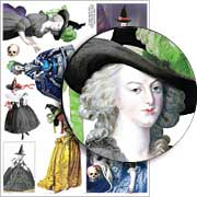 18th Century Witches Collage Sheet