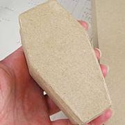 Paper Mache Coffin Box*