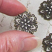 21mm Fancy Round Filigree