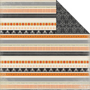 Happy Haunting - Border Strips Scrapbook Paper