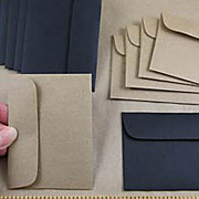 Black or Kraft ATC Envelopes