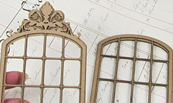 Double Layer Window - Ornate
