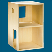 Two Story Wood Room Box Kit