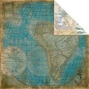 Maritime Ancre Scrapbook Paper