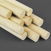 3/8 Inch Wooden Dowels