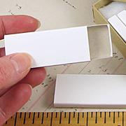 Narrow Blank Matchboxes*