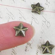3D Star Spacer Beads*