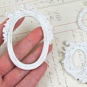 Resin Oval Frames Set