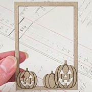 ATC Frame - Pumpkin Patch