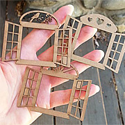 Chipboard Cottage Windows*