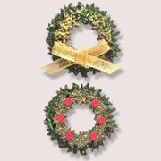 Tiny Felt Wreath Stickers*