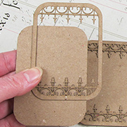 Wrought Iron ATC Card - 5 Points