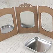 Small Altoids Tins Triptych Frame