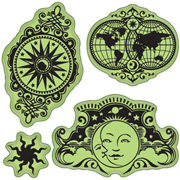 Celestial Cling Stamp Set