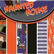 Haunted House 6x6 Paper Pad