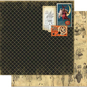 Wicked Gypsy - Costume Ball Scrapbook Paper