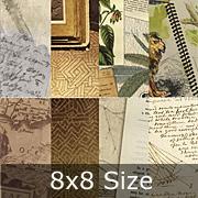 Serengeti 8x8 Paper Pad