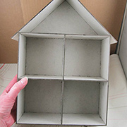 House Room Box - 4 Cubbies (1:24)