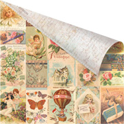 Fairy Rhymes - Fairy Collage Scrapbook Paper