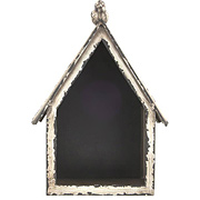 Altered Metal Frame - Birdhouse