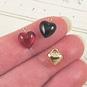 9mm Heart Charm Set*