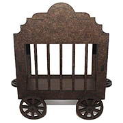 Rolling Circus Wagon ATC Holder*
