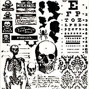 Tim Holtz Halloween Apothecary Rub-Ons