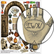 Alchemists Workshop Collage Sheet