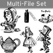 Alice Tea Party Set Download
