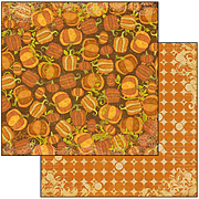 Pumpkin Patch Scrapbook Paper
