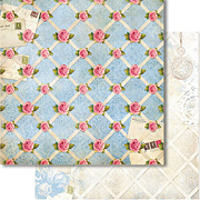 The Garden Love Letters Scrapbook Paper