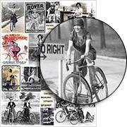 Bike Babes Collage Sheet