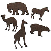 Circus Animal Cut-Outs*