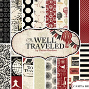 Well Traveled 6x6 Paper Pad