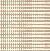 Tan and Ivory Diamond Scrapbook Paper