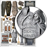 Cadaver & Digger Undertakers Collage Sheet