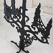 Black 3D Candelabra