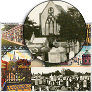 Cemetery ATCs Collage Sheet