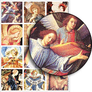 Choirs of Angels Collage Sheet