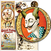 Circus Performers #2 Collage Sheet