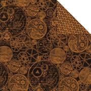 Steampunk Spells - Clockworks Scrapbook Paper