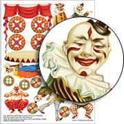 Clowning Around Collage Sheet