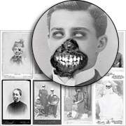 Creepy Cabinet Cards Collage Sheet