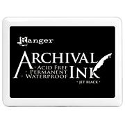 Archival Jumbo Ink Pads - Jet Black