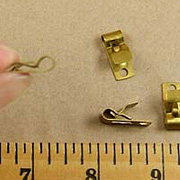 Brass Hanging Clip